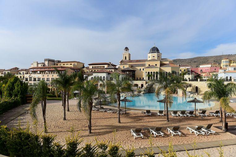 De Spaanse stad Benidorm aan de Costa Blanca, de favoriete regio van Belgen in Spanje. Beeld Photo News
