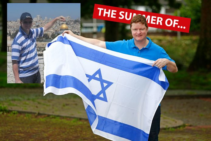De Alphense Mathieu van Oudenallen maakte in 2012 de reis van zijn leven naar Israël.