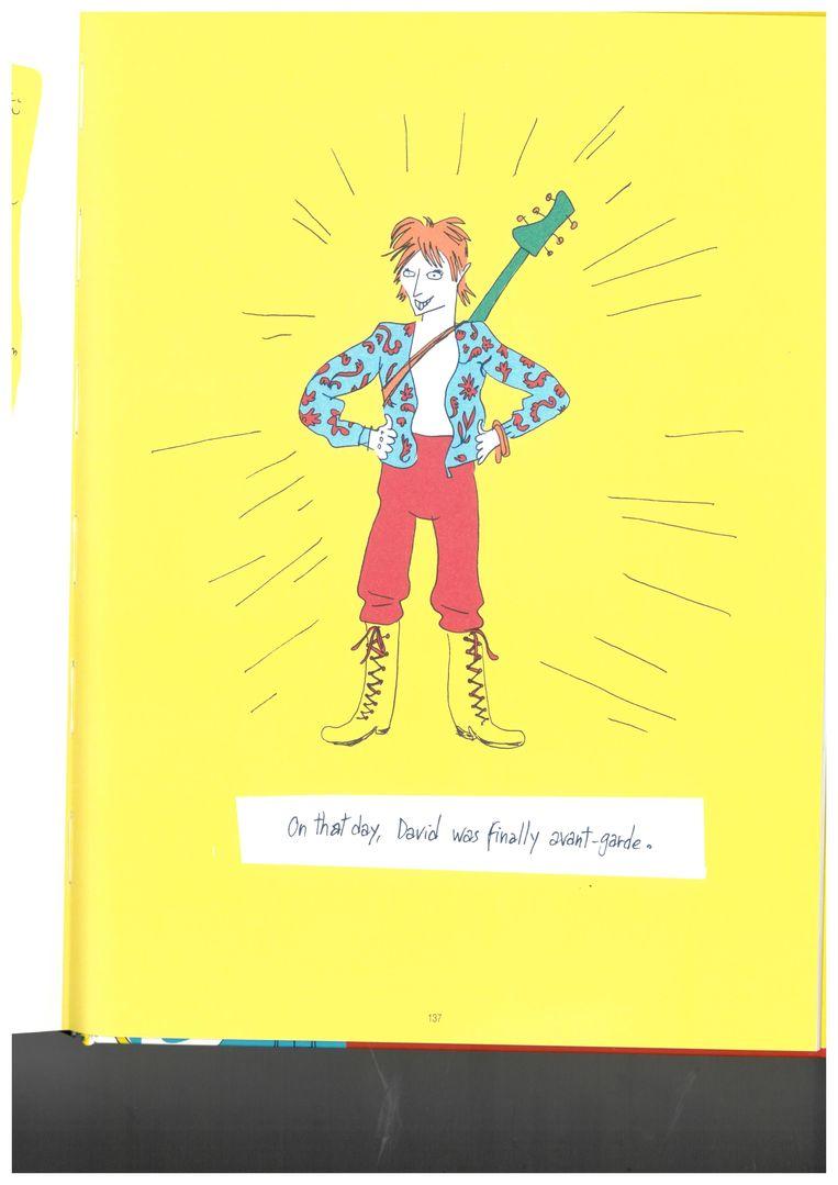 p. 137 David Bowie in 'Haddon Hall' door Néjib Beeld RV