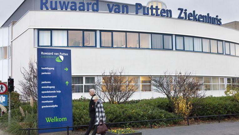 Het Ruwaard van Putten ziekenhuis in Spijkenisse. Beeld anp