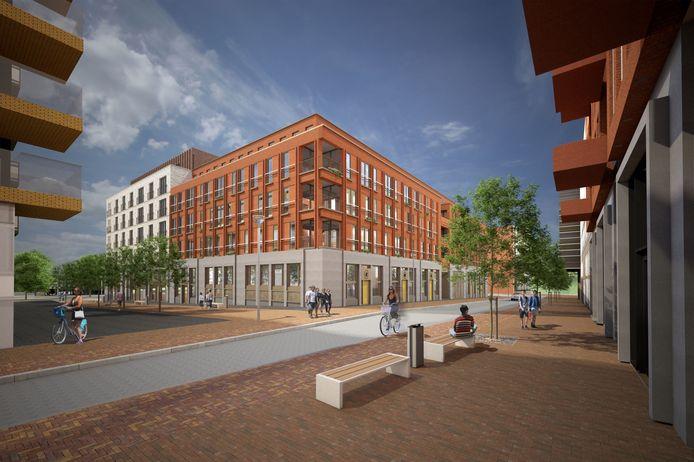 De nieuwbouwwoningen staan aan de Londenstraat en de Grauwaartsingel in Leidsche Rijn.