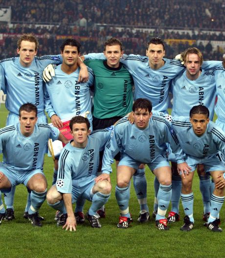 Spelers Ajax na stunt bij AS Roma in 2003: van crimineel tot psycholoog