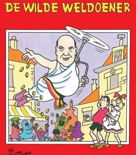Le Vlaams Belang cité en justice pour ses calendriers Bob et Bobette