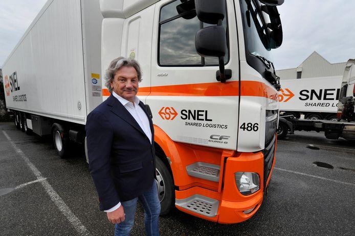 Directeur Peter de Vries van Snel Shared Logistics BV uit Woerden