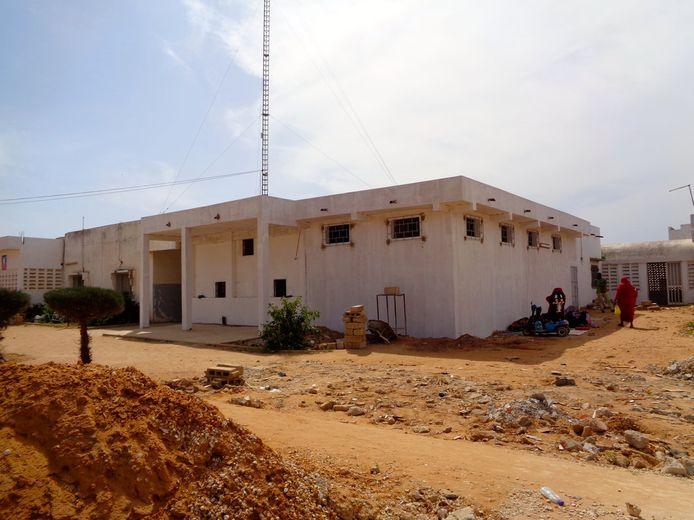 Een gebouw van het gloednieuwe kinderkankerziekenhuis