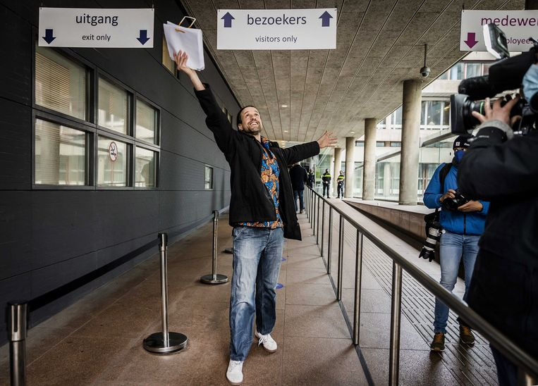 Willem Engel van Viruswaarheid. Beeld EPA