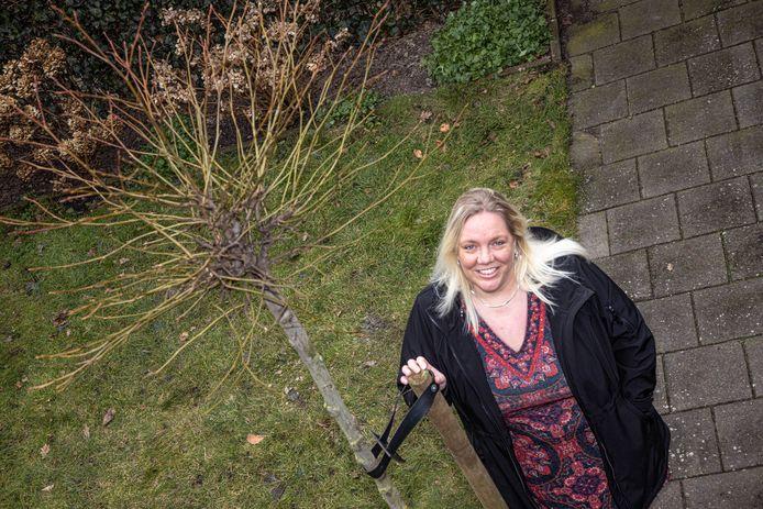 De Zwolse Laura van Dijk kreeg een gratis amberboom van deltaWonen.