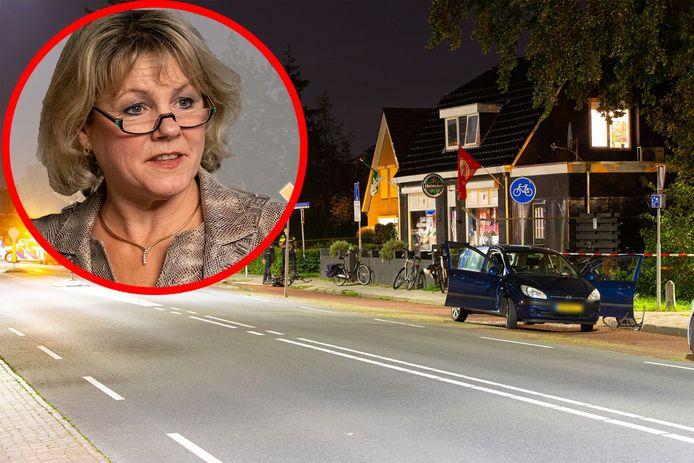 Burgemeester Tanja Haseloop-Amsing is geschrokken van de steekpartij met vijf gewonden in Wezep