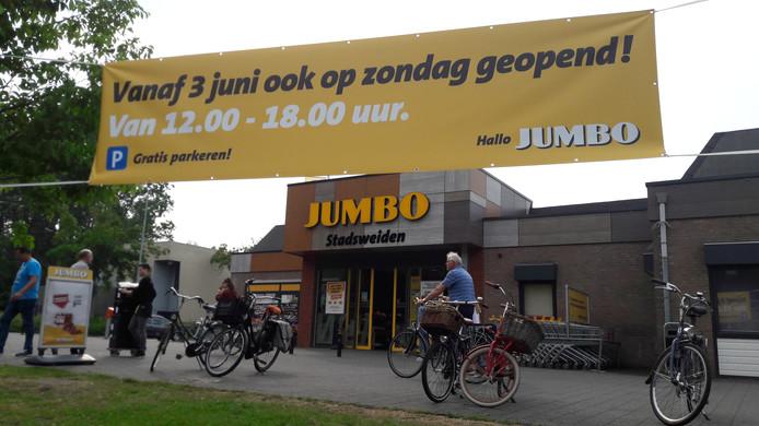 Eindelijk Het Mag In Harderwijk De Supermarkt Is Elke Zondag Open