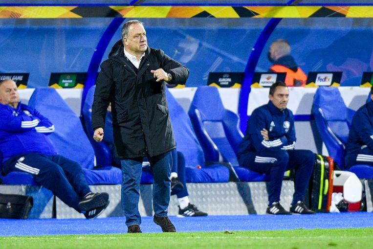 Feyenoord-coach Dick Advocaat. Beeld BSR Agency