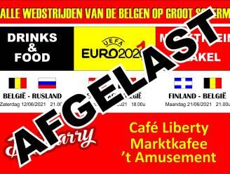 Geen EK-event op Marktplein door coronabesmetting en veiligheidseisen