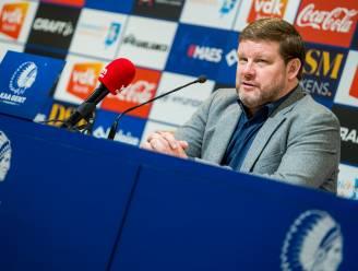 """Hein Vanhaezebrouck na amper 10 op 21 met AA Gent: """"Neen, ik heb de opdracht niet onderschat"""""""