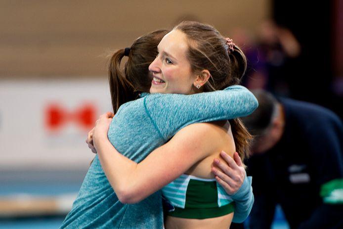 De Apeldoornse atlete Daniëlle Spek won ook in februari al de nationale titel hinkstapspringen indoor, vandaag was ze ook de beste op het NK outdoor.