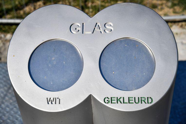 In Wijtschate is er een ondergrondse glasbol in gebruik genomen.