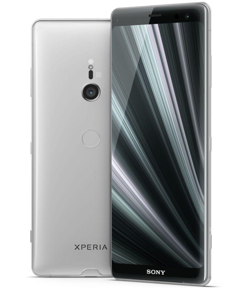 Ook Sony ging overstag voor oled-schermtechnologie met deze Xperia XZ3. Beeld Sony