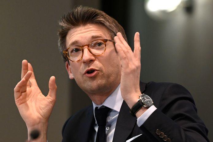 Pierre-Yves Dermagne, minsitre de l'Economie et du Travail.