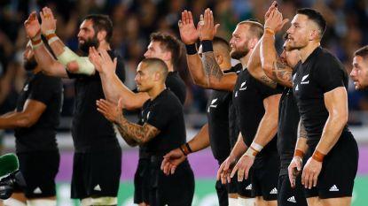 Titelverdediger Nieuw-Zeeland wint clash tegen Zuid-Afrika op WK rugby