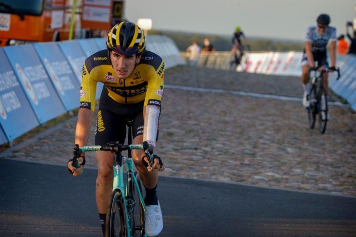 Mick van Dijke, hier actief bij het NK,  rijdt Le Samyn met de opleidingsploeg van Jumbo-Visma.