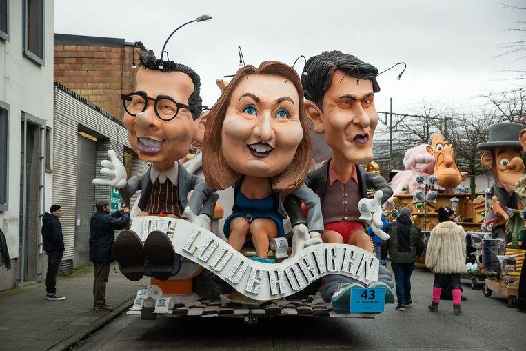 Carnaval Aalst  Beeld BELGA