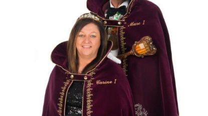 Marc I en Carine I gaan voorop in viering 55 jaar Heiknuiters