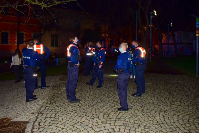 Illustration : intervention de la police à la Citadelle à Namur