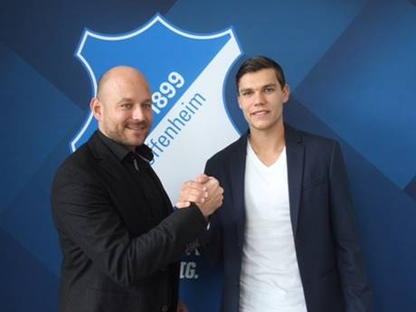 Justin Hoogma voor de eerste keer trefzeker namens Hoffenheim