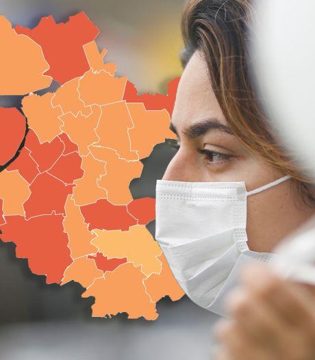 KAART | Aantal nieuwe coronagevallen in Oost-Nederland stijgt licht, Veluwe valt op