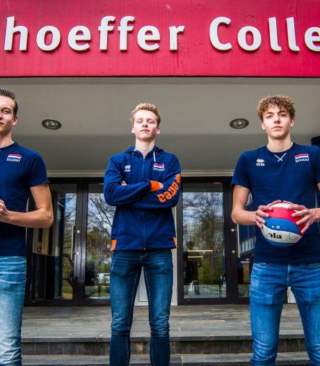 Enschedese talenten naar EK volleybal in Tsjechië