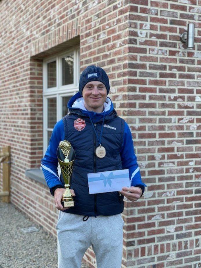 Toon Vandebosch werd gehuldigd als 'sportkampioen der sportkampioenen' in Malle voor het jaar 2020