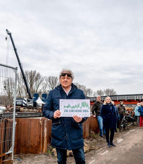 Bewoners Rottekade strijden tegen overlast van bouw A16 en boeken hun eerste succes