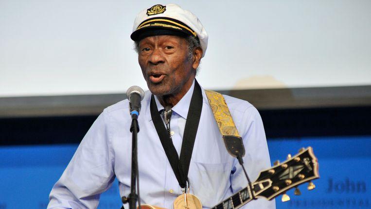 Chuck Berry in 2012 Beeld AP