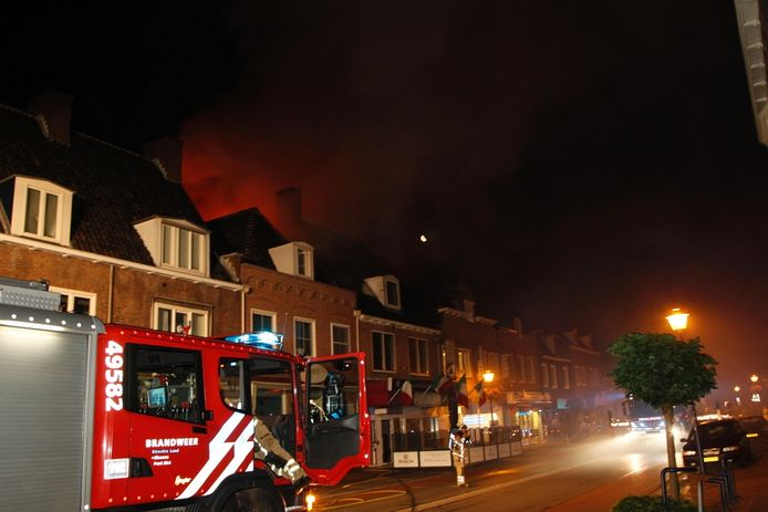 De brand in de pizzeria Bella Venezia in Rhenen.