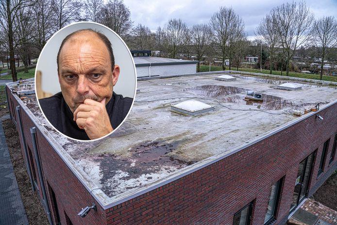 Burgemeester Snijders gaat proberen buren en moskeebestuur tot elkaar te brengen in het conflict rond de versterkte gebedsoproep. Op het dak van de moskee staan de luidsprekers (rechts).