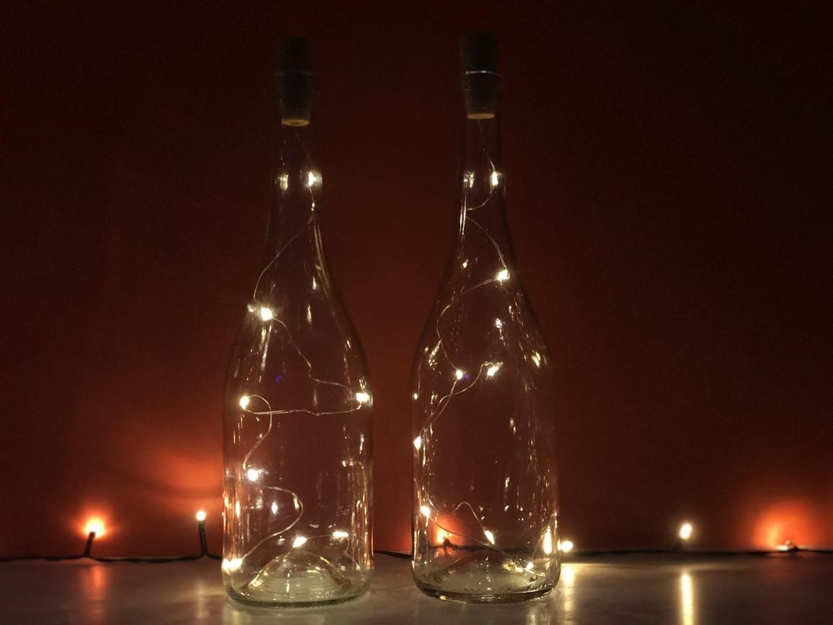 Lampjes in een fles, het product van Light4Bottle