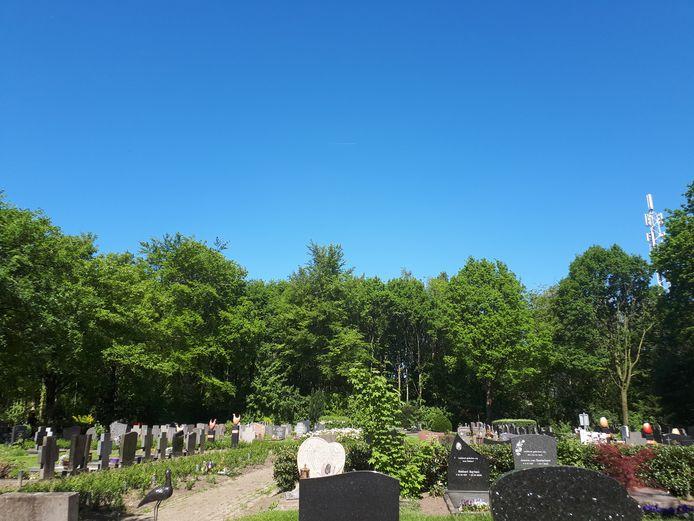 Begraafplaats Zundertseweg Etten-Leur.