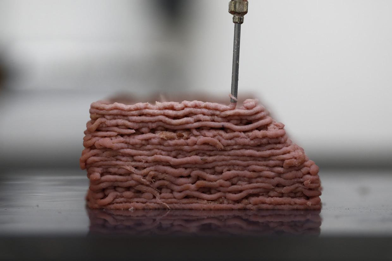 Geprint kweekvlees uit de labs van Redefine Meat Ltd., Israël.