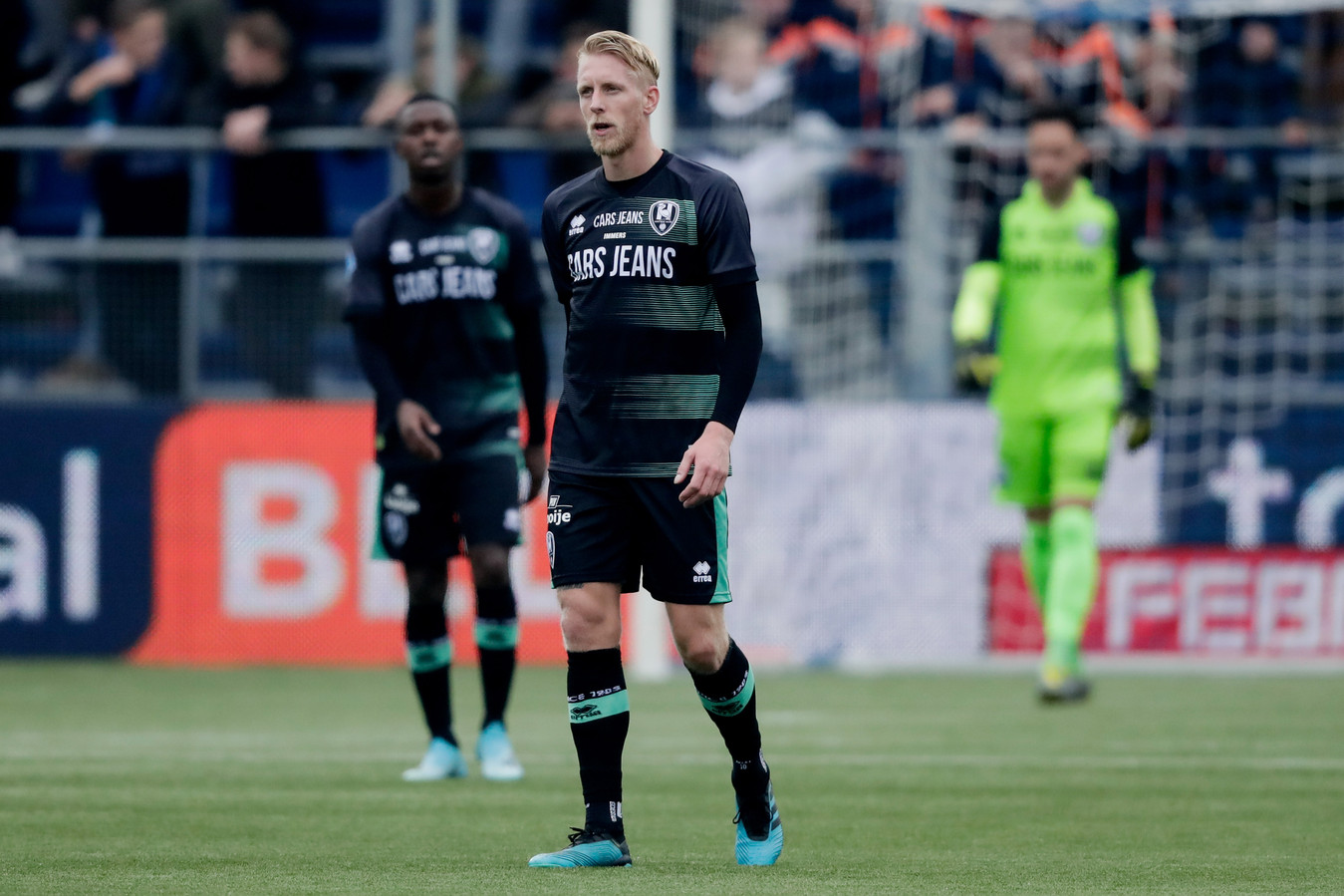 Lex Immers  druipt af in Zwolle.