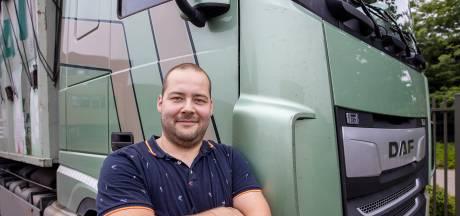 Trucker Bjorn (27) blokkeert A35 met vrachtwagen om 'levensgevaar' te voorkomen: 'Van die auto was niets meer over'