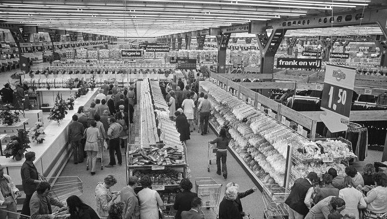 Winkelsensatie anno 1974: opening van de Maxis Superstore Beeld Rob Mieremet / Anefo