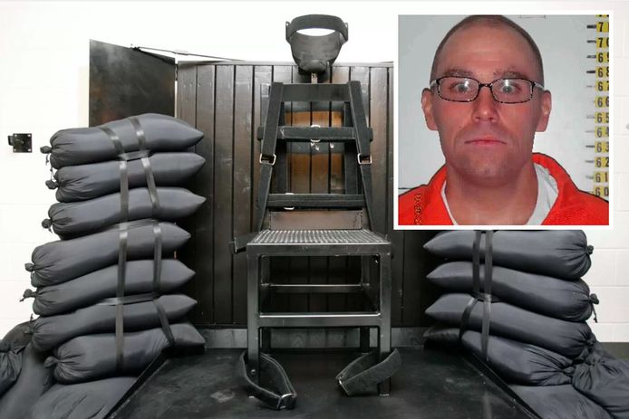 De ter dood veroordeelde Zane Michael Floyd (inzet) wil via een vuurpeloton terechtgesteld worden. Dit is voor het laatst gebeurd in 2010 in de staat Utah (foto).