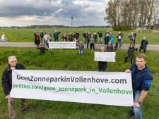 Verzet tegen zonnepark Vollenhove neemt toe