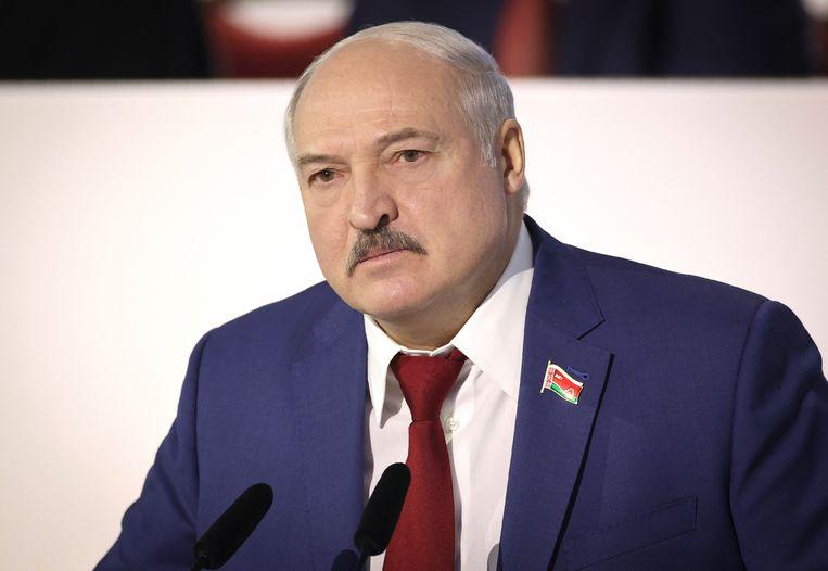 De Belarussische president Alexandr Loekasjenko zou ontkomen zijn aan een aanslag, zegt de Russische geheime dienst FSB. Beeld AP