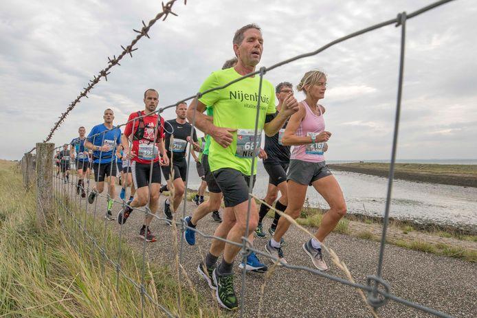 De organisatie van de '60 van Walcheren' hoopt de deelnemers volgend jaar wel in actie te kunnen zien, zoals dat hier ook het geval was tijdens de Kustmarathon van 2019.