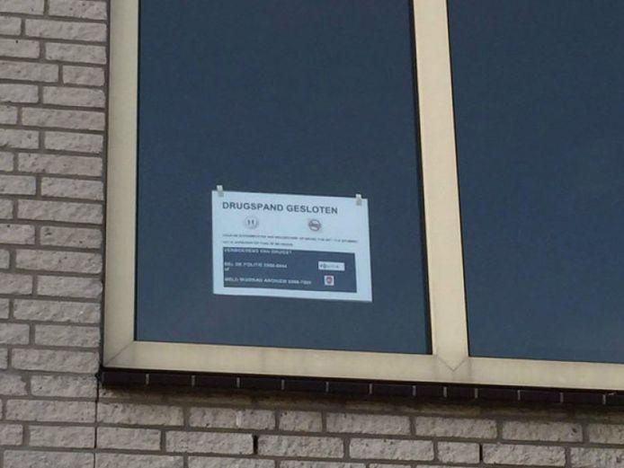 Een drugspand aan het Putterpad is voor zes maanden gesloten.
