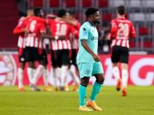 Weer geen lichtpuntje voor Willem II in Eindhoven