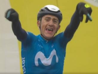 Soler slaat dubbelslag in uitgeregende etappe in Romandië