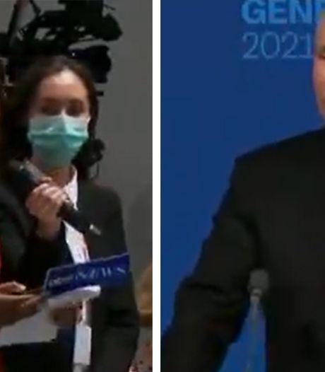 """Une journaliste américaine défie Poutine: """"De quoi avez-vous peur, Monsieur le Président?"""""""