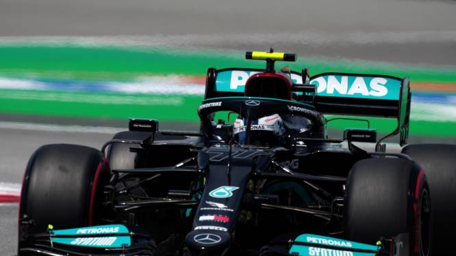 Hamilton sneller dan Bottas en Leclerc in tweede vrije oefensessie in Spanje