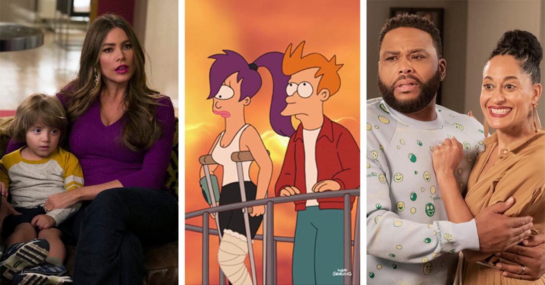 'Modern Family', 'Futurama', 'Black-ish' Beeld Humo