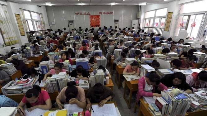 Chinese ouders scheiden massaal na eindexamen